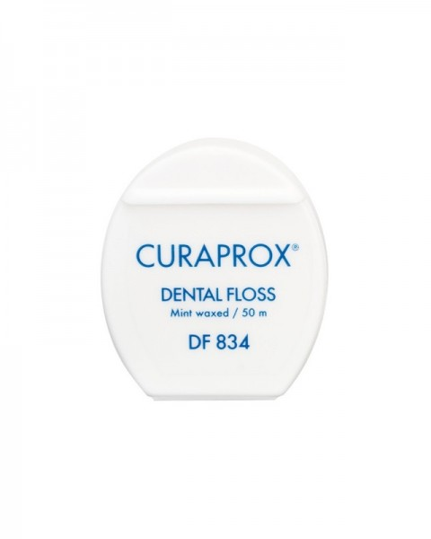 CURAPROX DF 834 dental floss Zahnseide gewachst mint