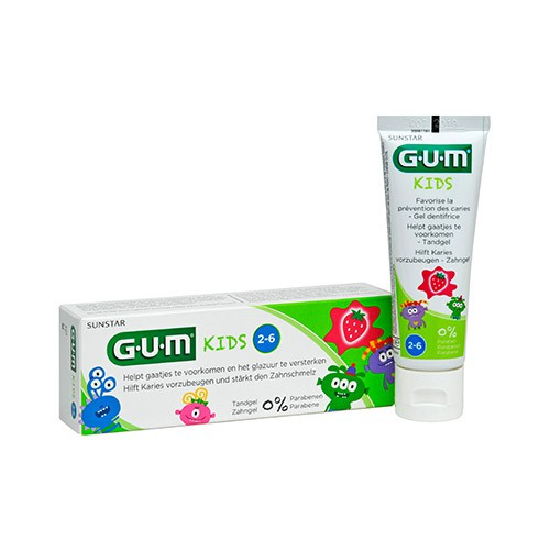 GUM Kids Monster Zahngel 50 ml