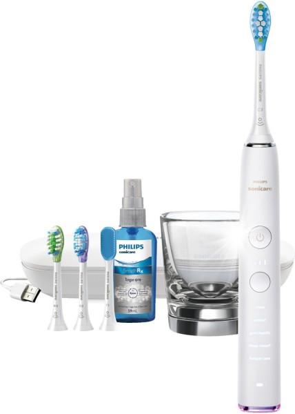 Philips® Sonicare DiamondClean Smart White HX9924/03 mit Zungenreiniger, 3 Bürstenköpfen u. Zubehör