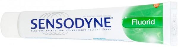 Sensodyne® F Zahncreme mit Fluorid