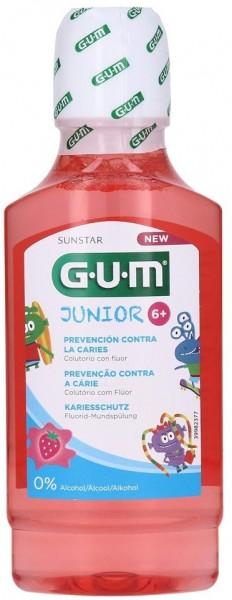 GUM Junior Mundspülung, fluoridfrei