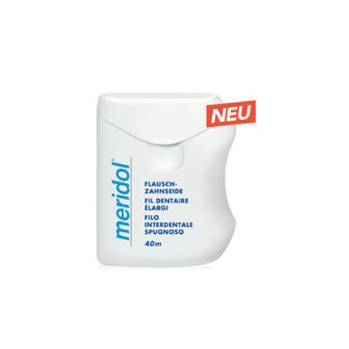 meridol® Flausch-Zahnseide gewachst 40m