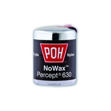POH Percept 630 schwarze Zahnseide 75yd - ungewachst, solange der Vorrat reicht