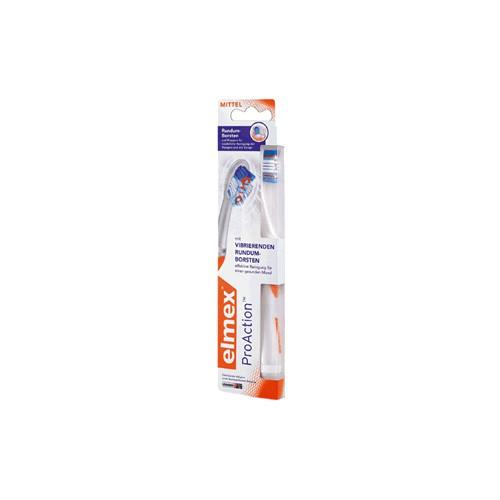 elmex® ProAction™ Zahnbürste plus 75ml-Tube elmex PROFESSIONAL Zahnpasta