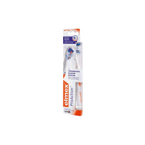 elmex® ProAction™ Zahnbürste, mittel