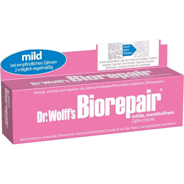 Biorepair Zahncreme mild, mentholfrei 75 ml