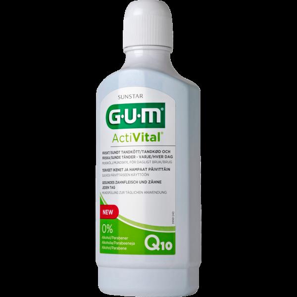 GUM ActiVal Mundspülung 500 ml