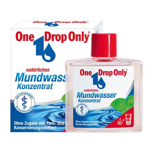 One Drop Only® Natürliches Mundwasser- 50ml Konzentrat