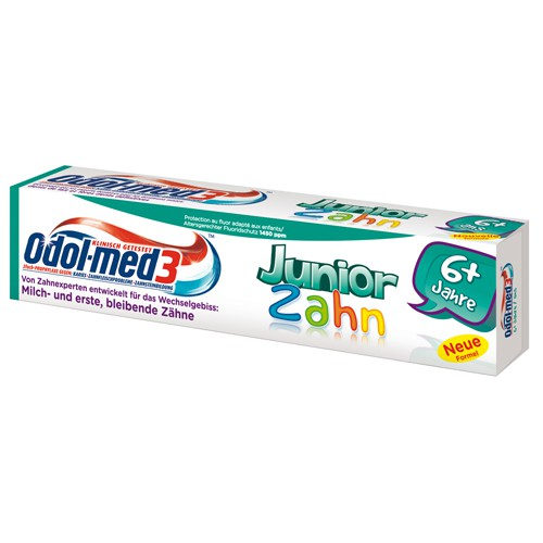 Odol-med3® Junior – Zahncreme fresh-mint