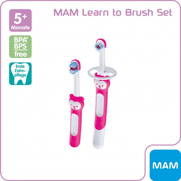 MAM Learn to Brush Set 5+